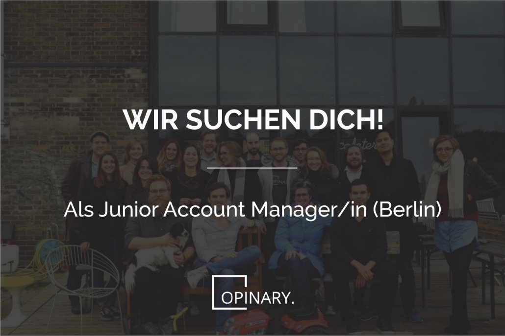 Junior Account Manager Opinary