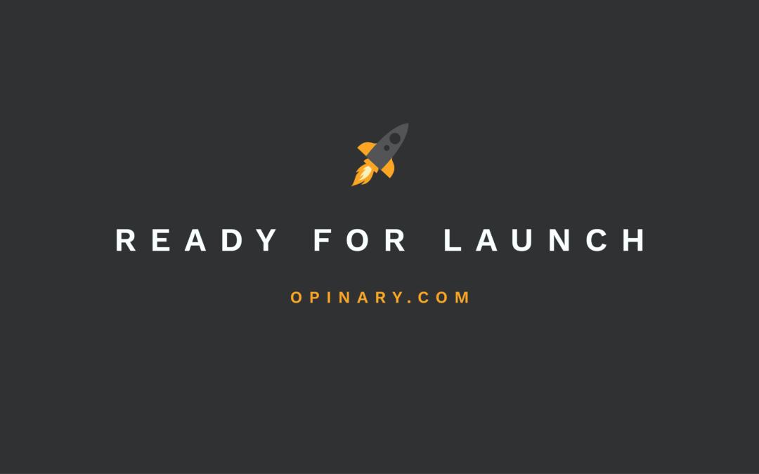 Alles startklar: Unsere neue Website