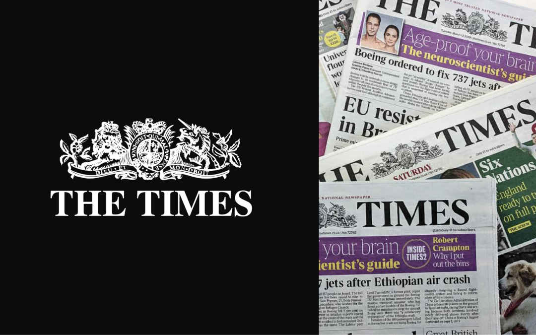 Opinary Success Story: The Times of London