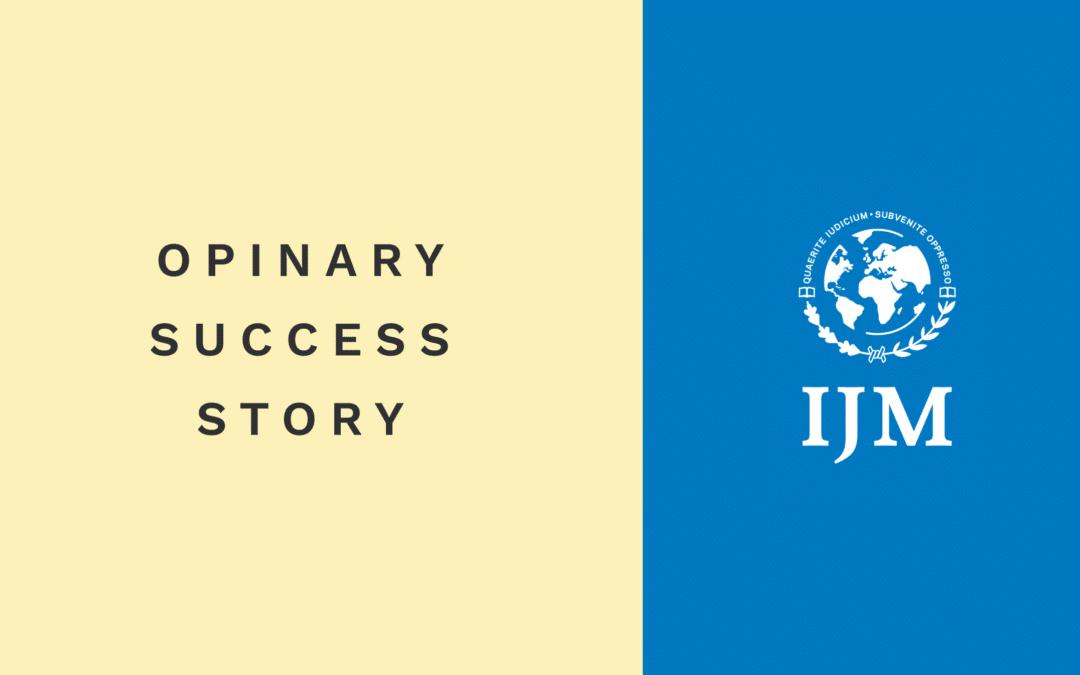 Kampagnen-Insights: International Justice Mission (IJM)